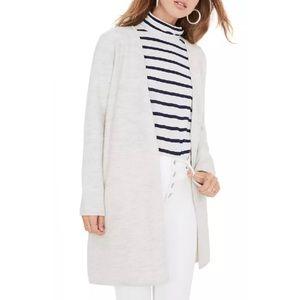 Madewell Lombard sweater coat large merino wool